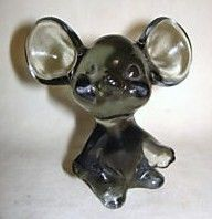 Fenton Mouse Gray Smoke from 1980's
