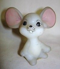 Fenton Hand Painted Mouse