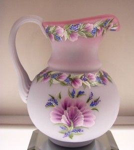 Fenton One of a Kind Pitcher