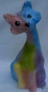Fenton Tye Dye Alley Cat 100th Anniversary
