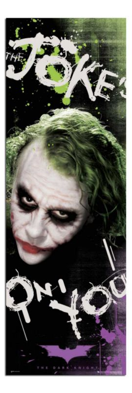 Giant Joker Heath Wall Art Poster