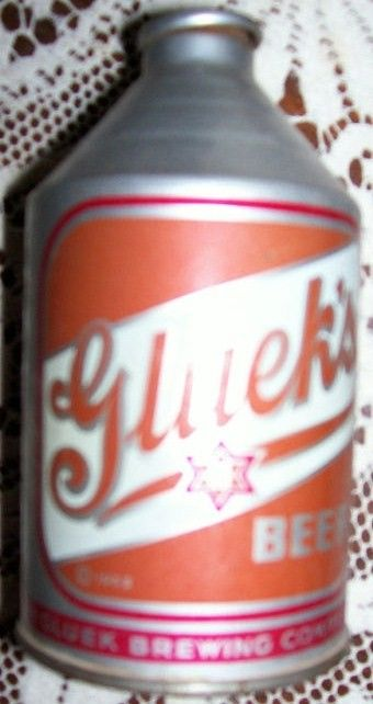 Gluek's Cone Top Beer Can
