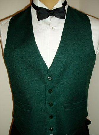 Green Joker Vest Front