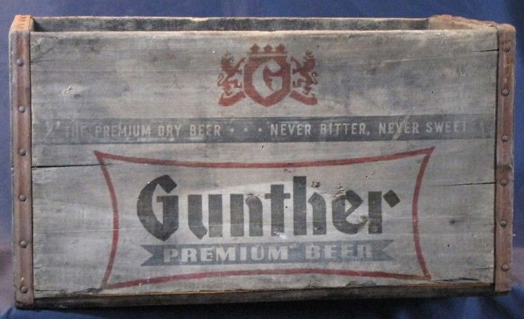 Gunther Beer Crate