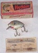 Heddon Punkinseed Crappie w/Box & Catalog