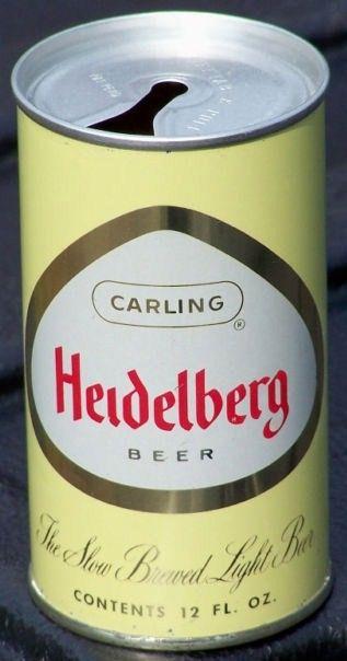 Heidelberg Zip Top Beer Can Tacoma, WA