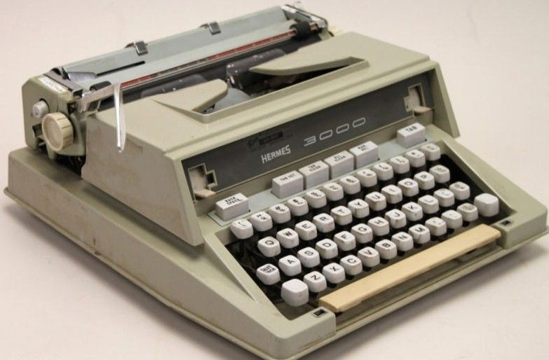 Hermes 3000 Typewriter Made in France