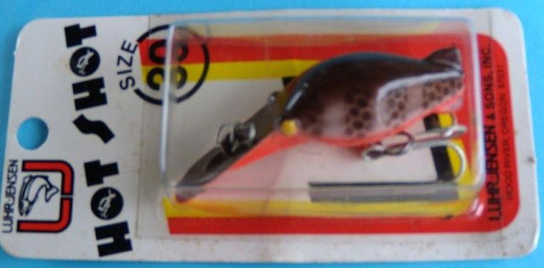 Hot Shot Luhr Jensen Vintage Lure 30 Crawfish 5433-030-96