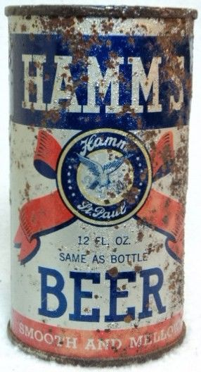 Hamm's OI IRTP Flat Top Beer Can St Paul, MN
