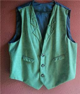 Handmade Joker Green vest