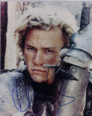 Heath Ledger 7X5 Pre- Printed Signed Photograph