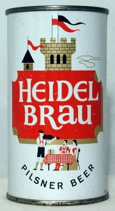 Heidel Brau Pilsner Flat Top Can