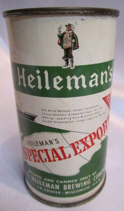 Heileman's Special Export Flat Top Can