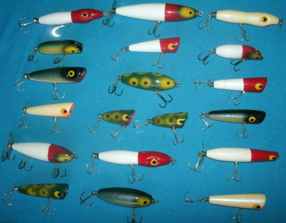 Garden woodworking plan 2016 for Old wooden fishing lures