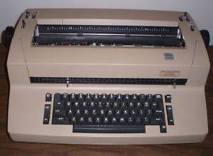 IBM Selectric II Typewriter Script Font