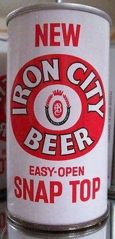 Iron City New Snap Top Beer Can