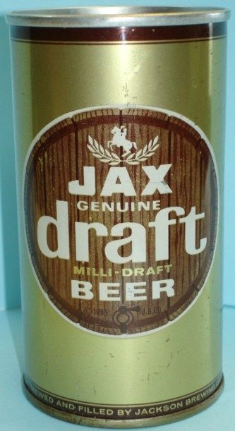 JAX Draft Milli Draft Solid Steel Beer Can