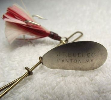 J T Buel Vintage Fishing Lure Canton, NY