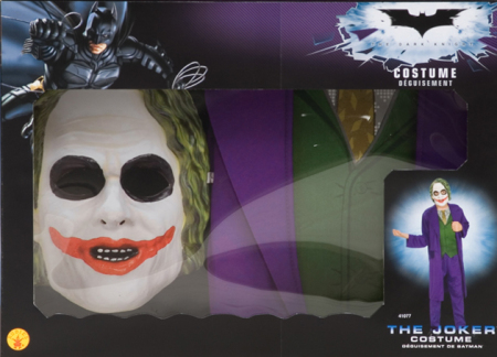Joker Costume with Mask for Child