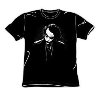Joker Heath Face Black T-Shirt