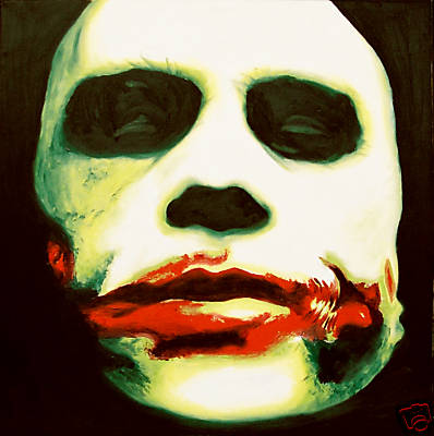 Joker Heath Oil on Canvas 42 inches x 48 inches