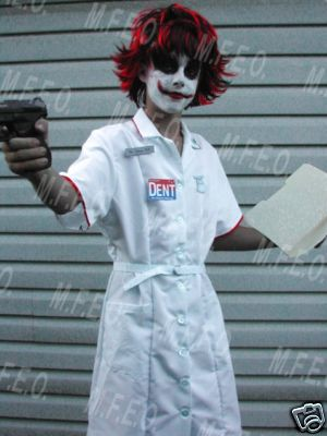 Joker Heath Nurse Costume
