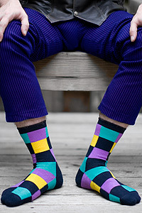 Joker Socks with Pants