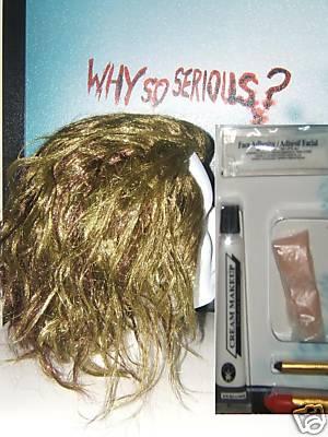 Joker Wig and Makeup Kit