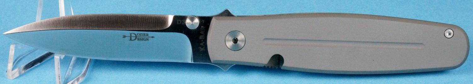 KA-BAR Dozier Thorn 4060-D2 Plain Edge Folding Knife