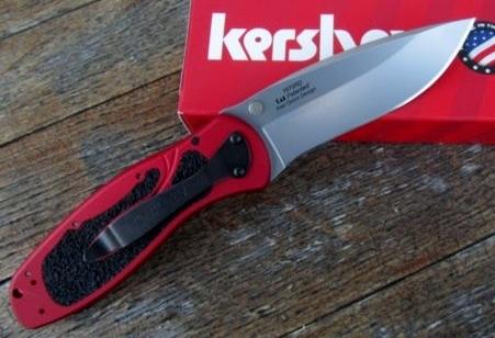 Kershaw Ken Onion Blur Knife/Red