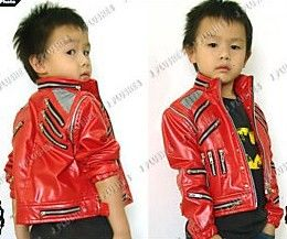 Kid Size Michael Jackson Beat It Punk Rock Jacket