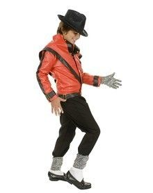 Michael jackson red Beat It Costume for Kids