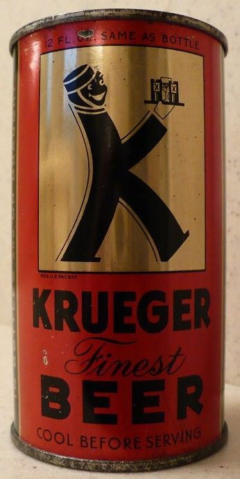 Kruegaer Beer Old Flat Top Can
