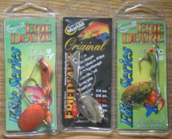 Lot of 3 New Erie Dearie Elite Series Fishing Lures