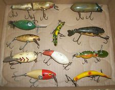 Lot of Vintage Artificial Bait