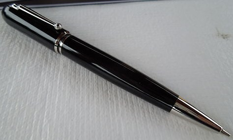 Mechanical Pencil Dunhill Sidecar Resin Palladium NUZ4000 SM