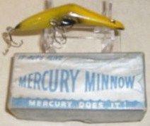 Mercury Minnow Tackle Company Fishing Lure