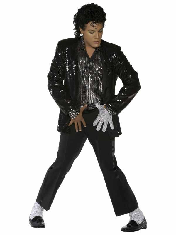 TMichael Jackson Billie Jean Costume Adult