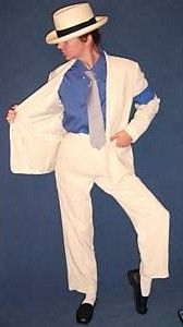 Michael Jackson Costume Clothes Smooth Criminal Jacket