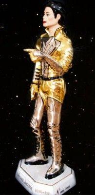 Michael Jackson Porcelain Figure