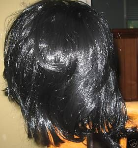 Michael Thriller Straight Black Wig