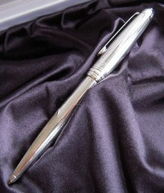 Montblanc Meisterstuck Solitaire Pure Silver Ballpoint