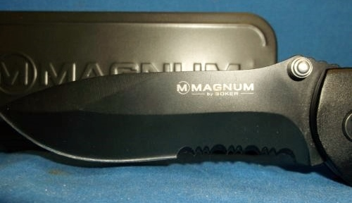 Magnum Compact Rescue Knife/Open Blade View