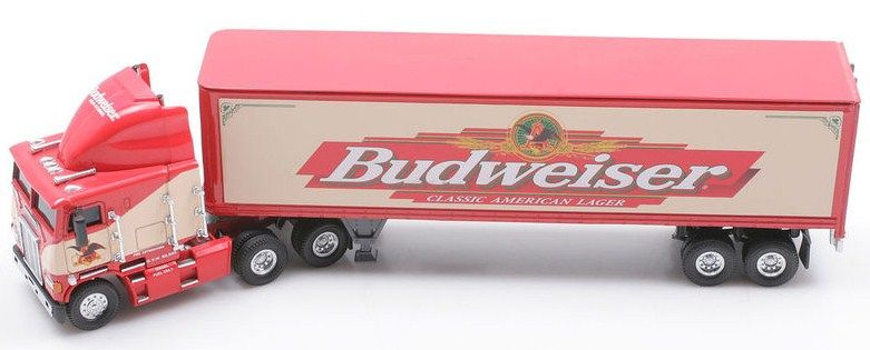 Matchbox 1:58 scale The Spirit of Budweiser Tractor Trailer