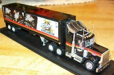 Matchbox Collectible Miller Beer Mack Kenworth Toy Truck
