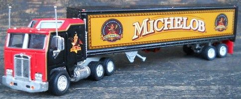 Matchbox Convoy Collectibles KW COE Michelob Beer 1998