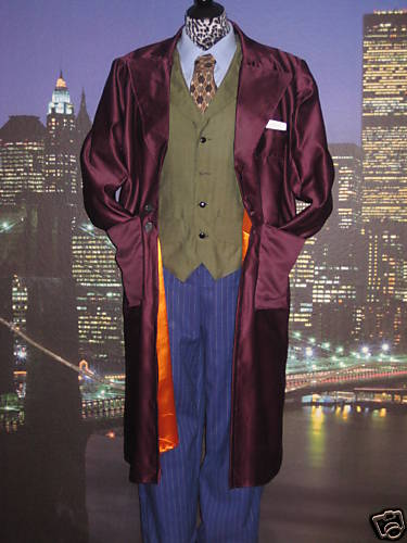 Men's Joker costume complete