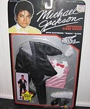 Michael Jackson 1984 Billie Jean Doll Clothes
