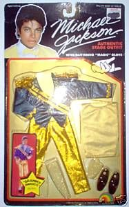 Michael Jackson 1984 Grammy Awards Doll Outfit