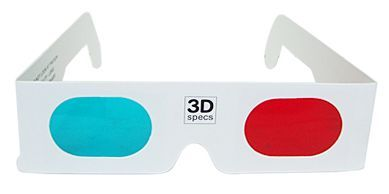 Michael Jackson 3-D Glasses